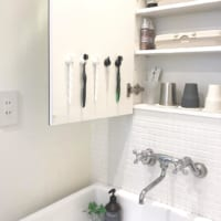【100均・無印・カインズ】アイテムを使った収納法☆洗面所をすっきりさせよう!