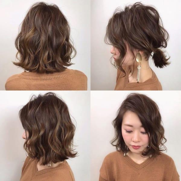 アラフィフに人気の髪型 ミディアム6