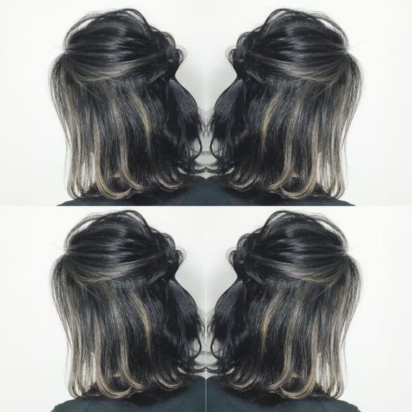 黒髪×ハイライト20