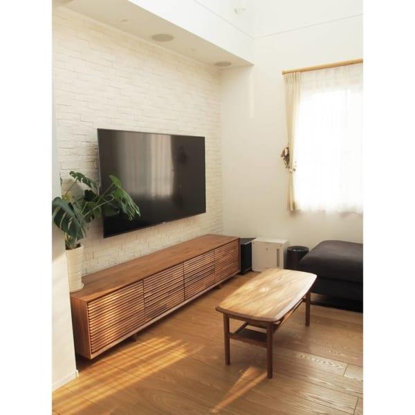 壁掛けテレビの配線を隠す方法2