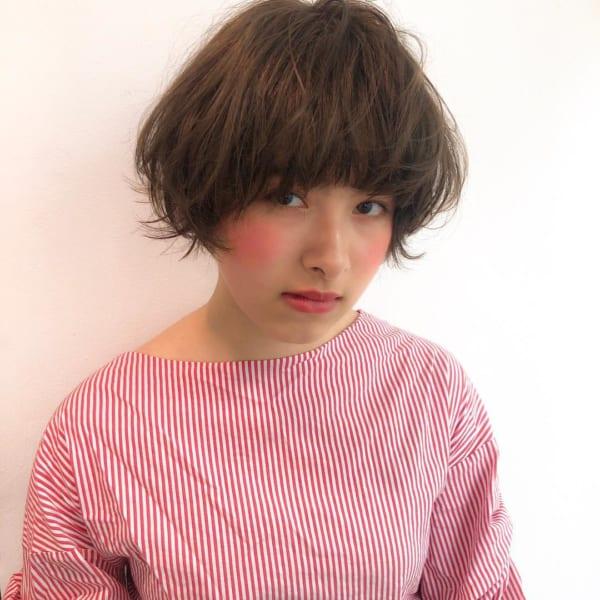 ジェンダーレス女子のヘアスタイル①マッシュ5