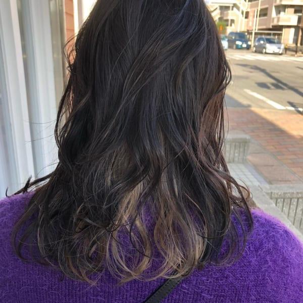 黒髪×ハイライト23