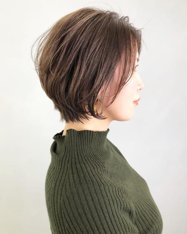 ミセス 髪型 ショート