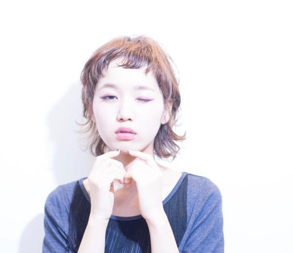 ジェンダーレス女子のヘアスタイル③襟足長め4