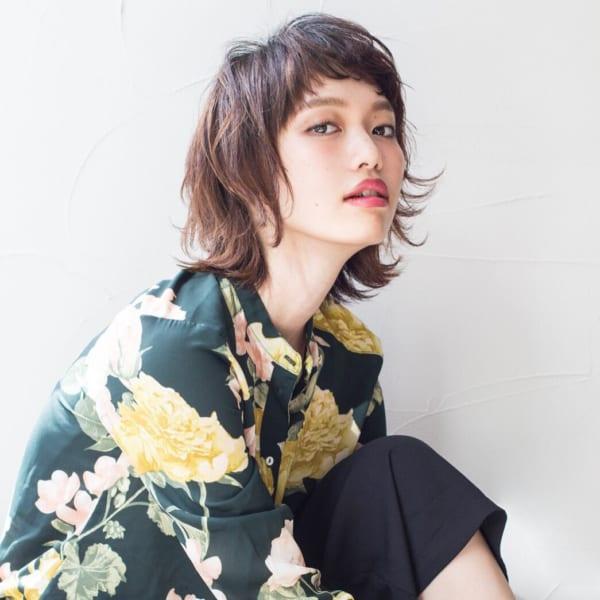 ジェンダーレス女子のヘアスタイル③襟足長め5
