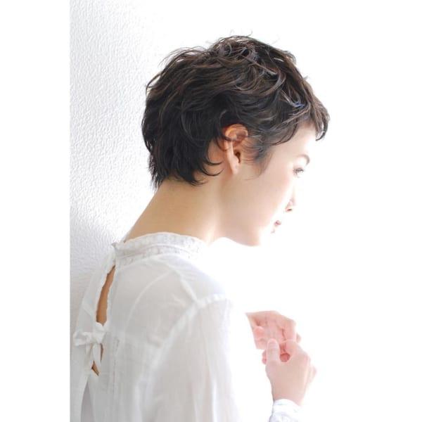 くせ毛ショート4