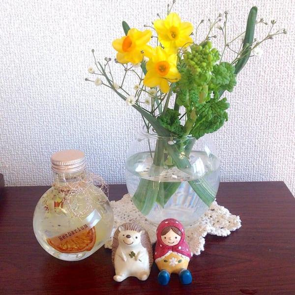 季節感のあるお花を