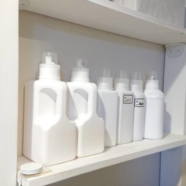 ダイソー 詰め替えボトル ホワイト化