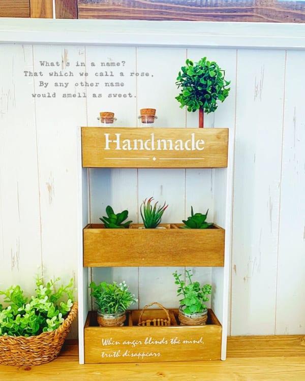 DIY 2wayミニ飾り棚
