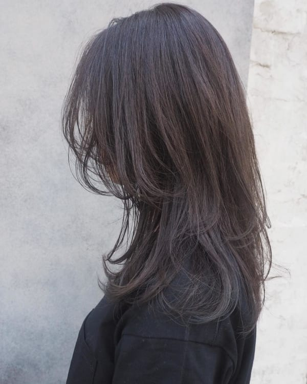 アラフィフに人気の髪型 ロング9