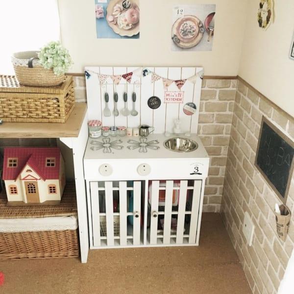 女の子の子供部屋インテリア 収納6