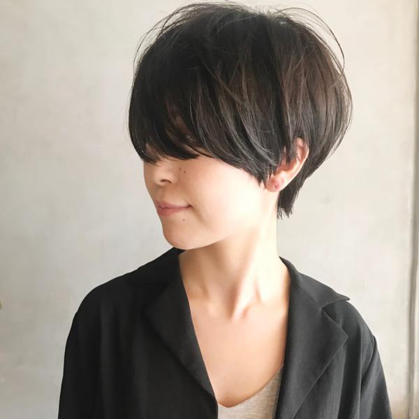 ジェンダーレス女子のヘアスタイル⑤メンズライク3