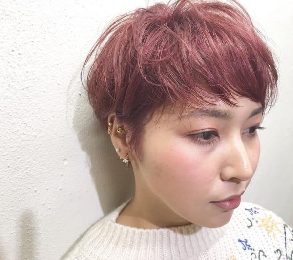 ジェンダーレス女子のヘアスタイル⑤メンズライク5