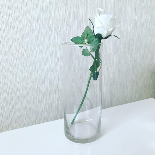 ダイソー ガラス花瓶