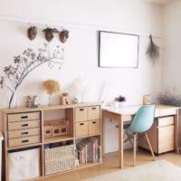 小学生の子供部屋事情!【IKEA・無印・ニトリetc.】の家具を使った学習スペース