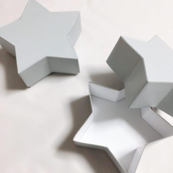 グレーインテリア ワッツ 星型ボックス