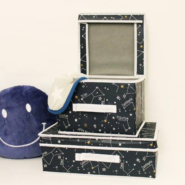 CouCou 星モチーフの収納ボックス