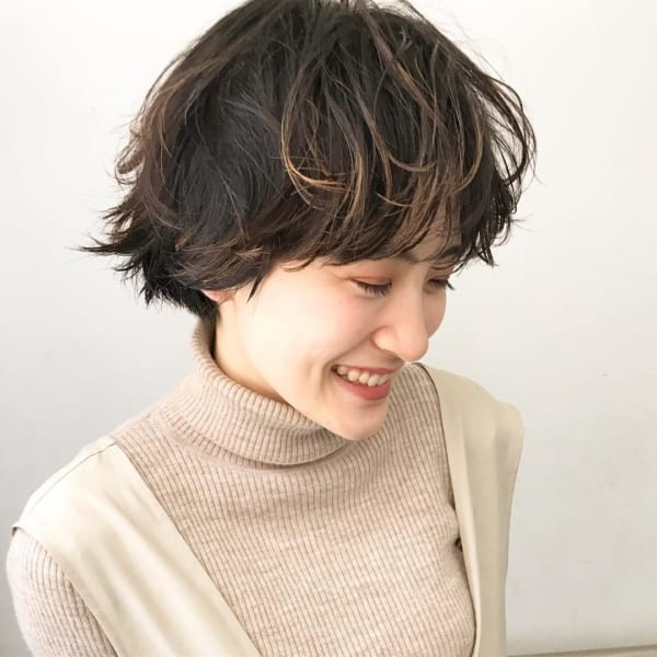 アラフィフに人気の髪型 ショート4