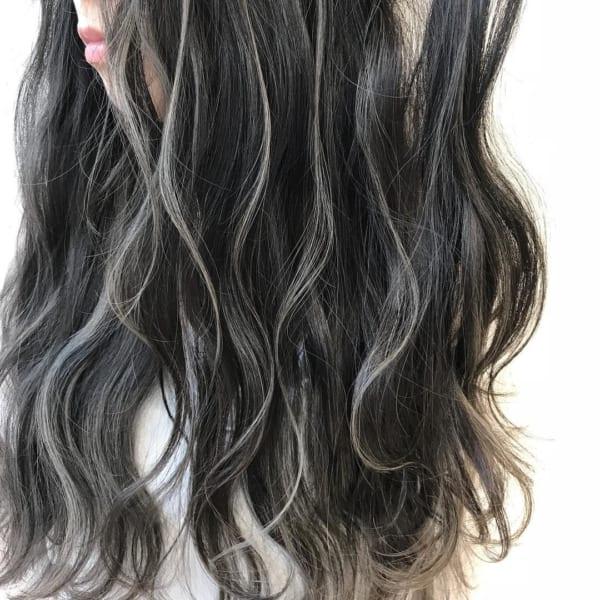 黒髪×ハイライト4