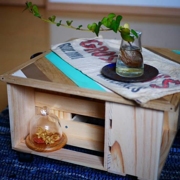 セリア材料で作るDIYミニテーブル