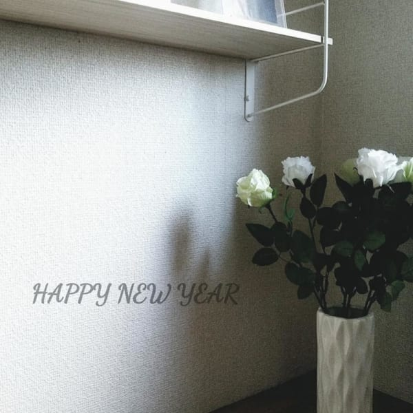 ダイソー 陶磁器製花瓶2