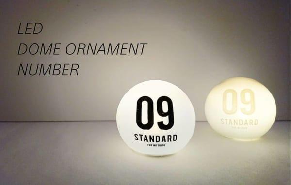 セリア新商品 LEDドームオーナメント