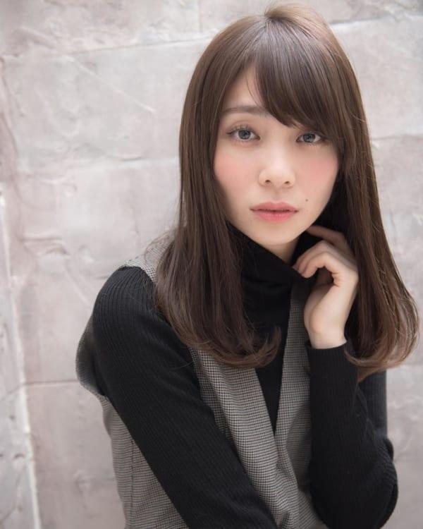 ミセス 髪型 ロング4