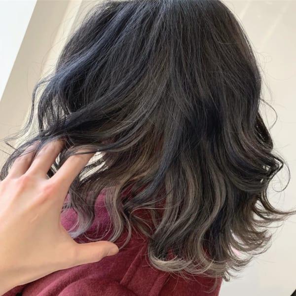 黒髪×ハイライト5