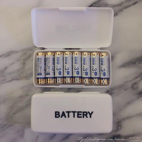 電池収納 ダイソー2