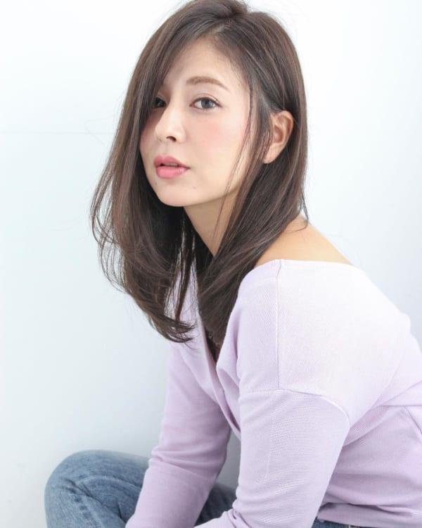 ミセス 髪型 ロング5