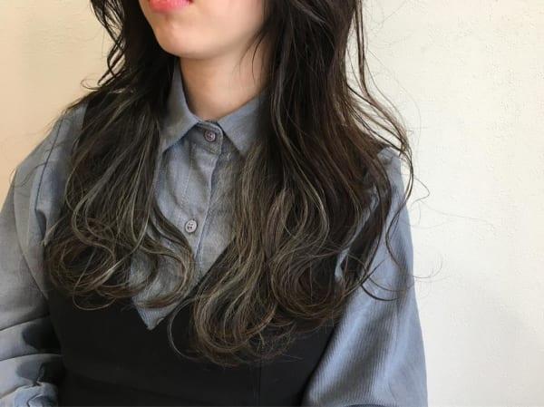 黒髪×ハイライト6