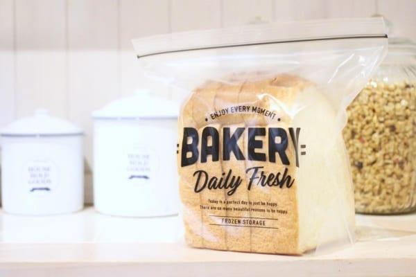 ジッパーバッグ パン用 セリア