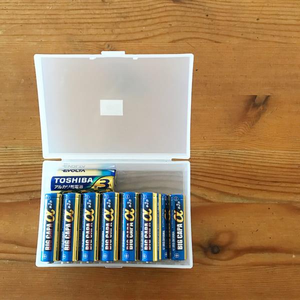 電池収納 無印