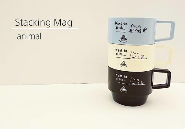 セリア・ダイソー・キャンドゥのおしゃれなマグカップ14