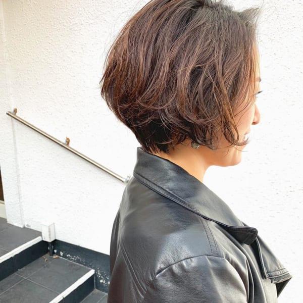 アラフィフに人気の髪型 ショート8