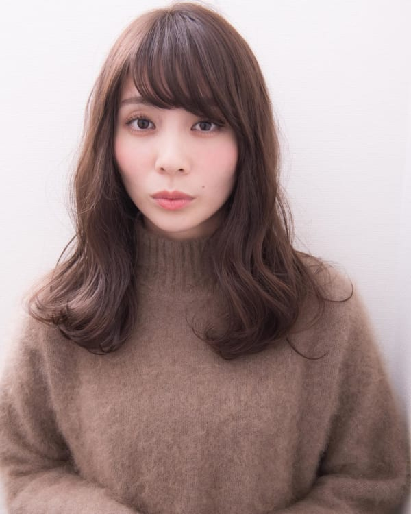 ミセス 髪型 ロング6