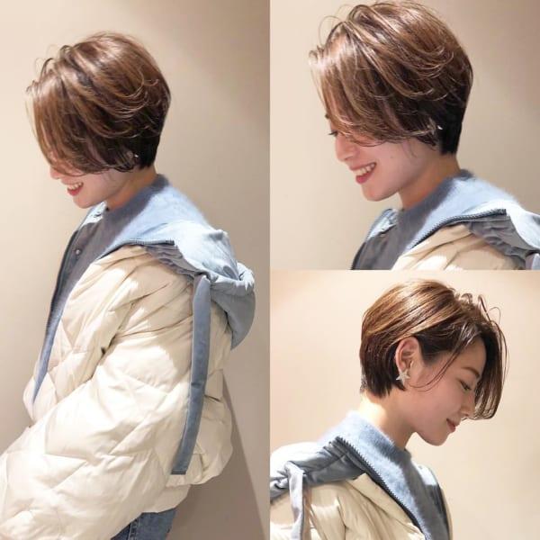 アラフィフに人気の髪型 ショート10