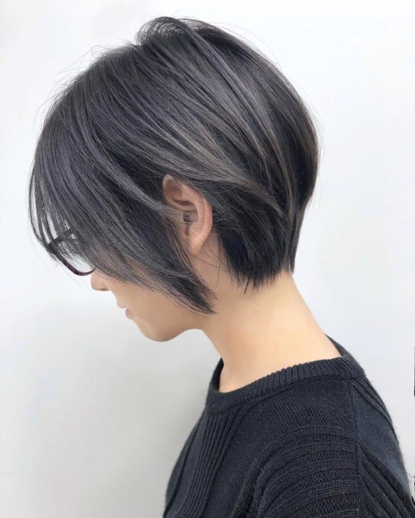 黒髪×ハイライト8