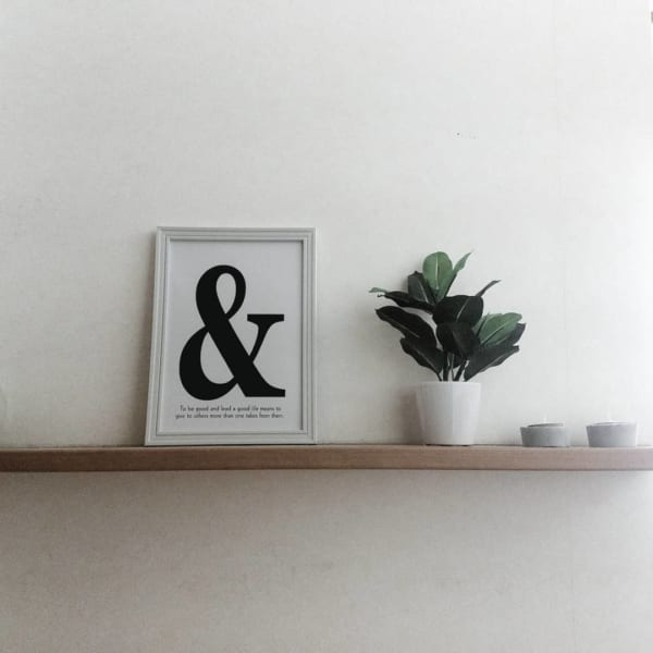 キャンドゥ アルファベットフォトフレーム4