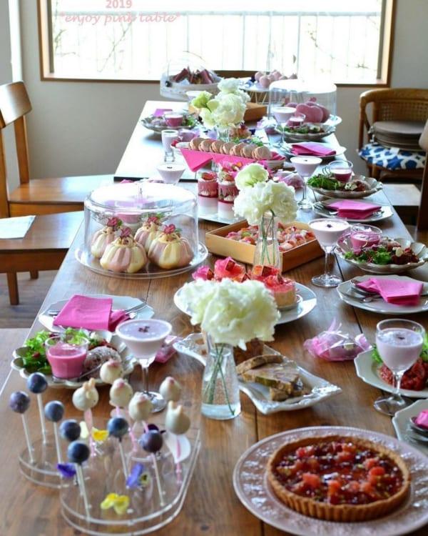 ひな祭り テーブルコーディネート ギャザリングパーティ