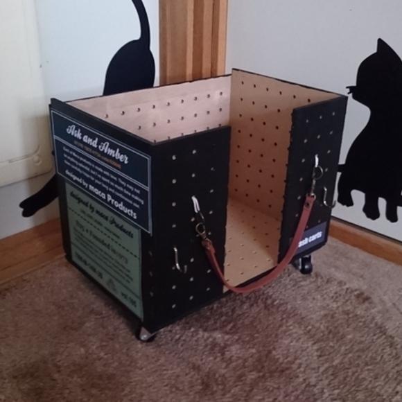 DIYで作るワゴン風ゴミ箱2