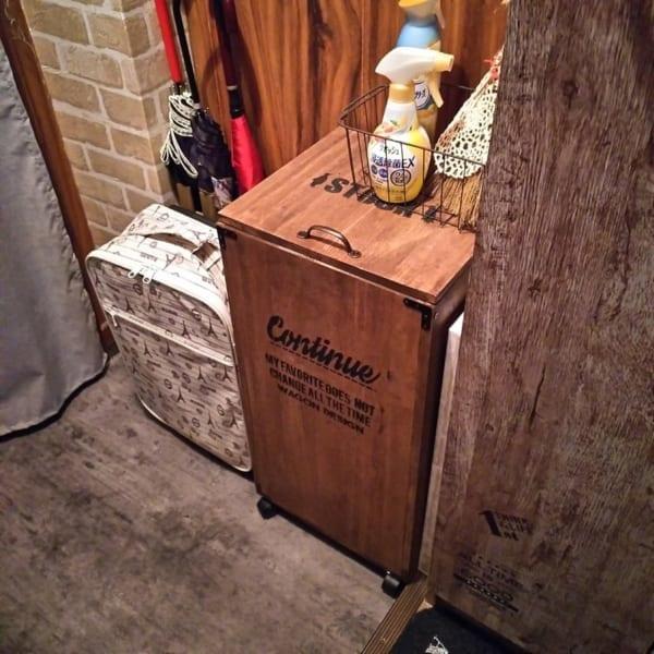DIYでゴミ箱をおしゃれに1