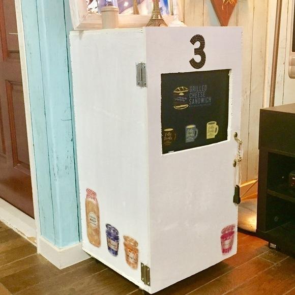 フラップ式ゴミ箱2