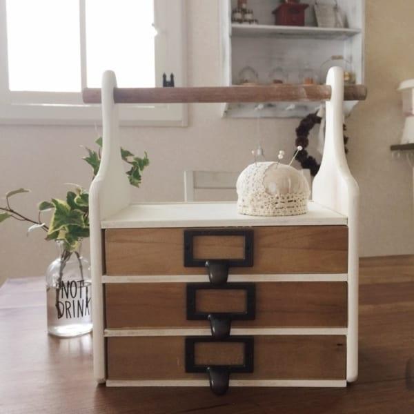 ダイソーの木材を使ったDIY実例②収納ボックス