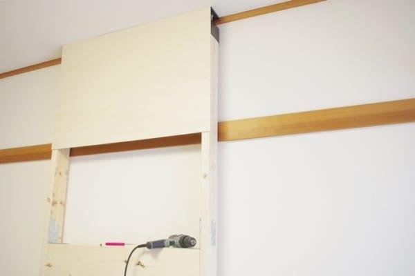 壁掛けテレビの配線を隠す方法8