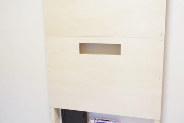 壁掛けテレビの配線を隠す方法9