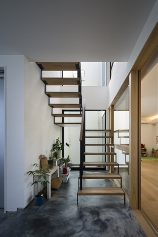 中庭のあるデザイナーズ住宅2