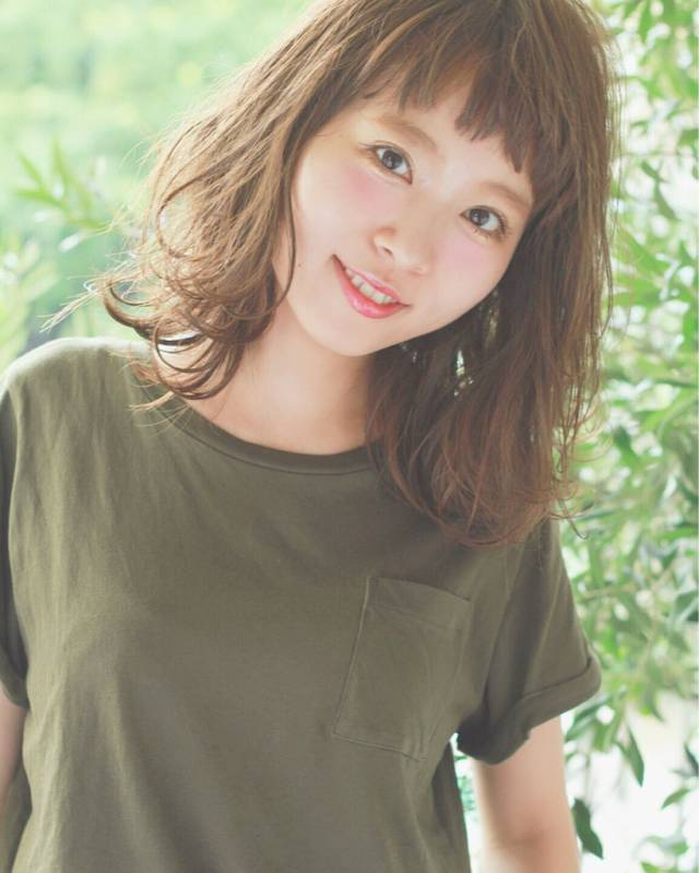 似合う髪型がわからない方におすすめのスタイル【丸顔編】4
