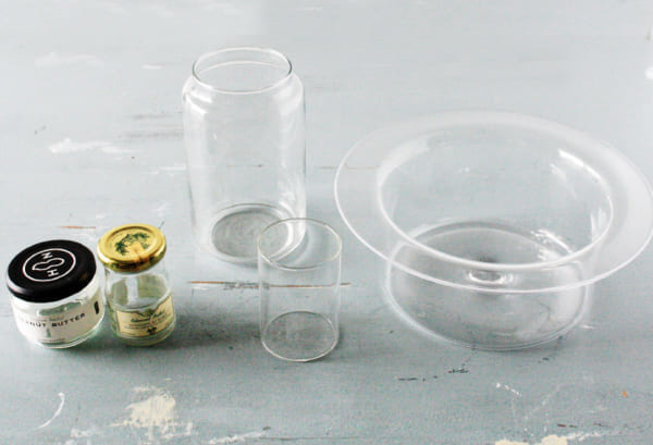 カインズ エアプランツ アーティフィシャルグリーン ガラス容器