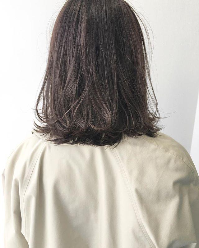 黒髪セミロング8